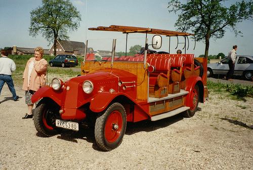 Tatra 43 firebrigade