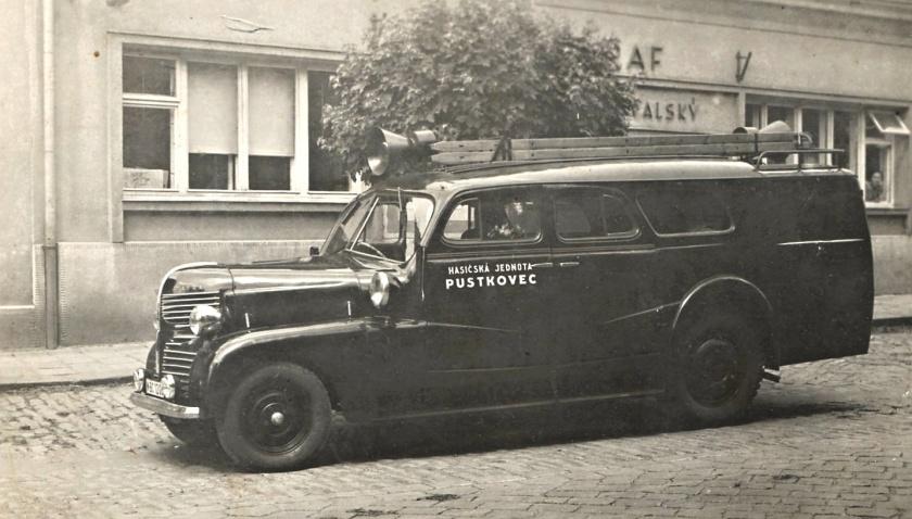 Tatra 43 Pustkovec