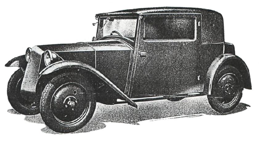 Tatra 57 side