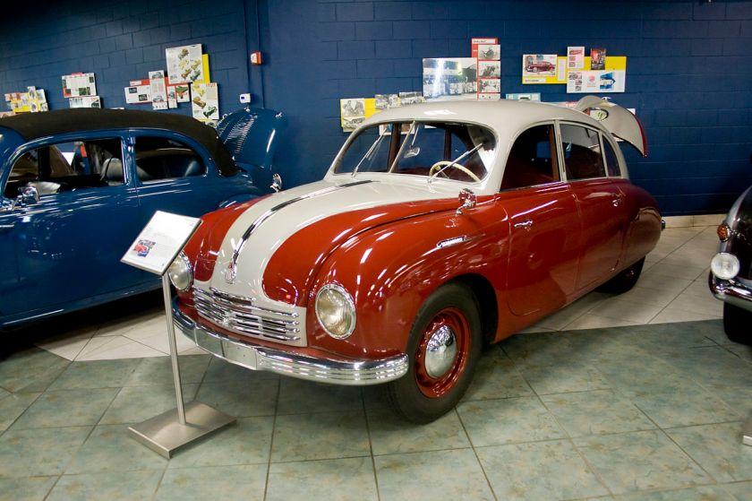 Tatra 600 at the TampaBayAutomobileMuseum