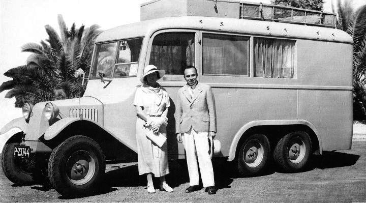 Tatra 72 a manželé Baumovi