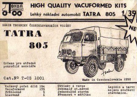 tatra 805 box