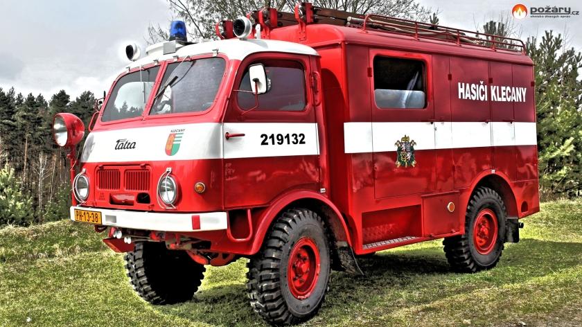 Tatra 805 brandweer