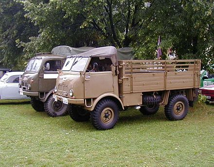Tatra 805 – výsadkářská verze a valník