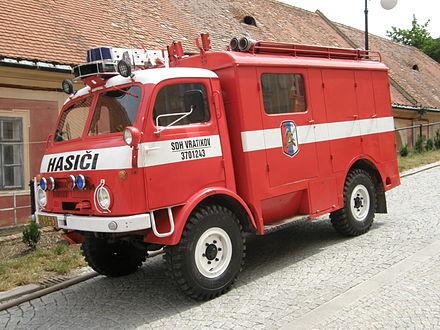 Tatra 805 -SDH_Vratíkov