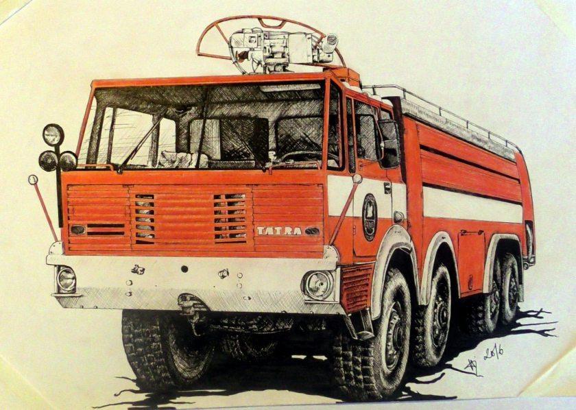 Tatra 813 8x8 SLF 1800-CAS 55