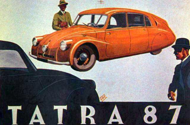 Tatra 87 advert