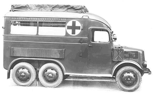 Tatra 92 ambulance
