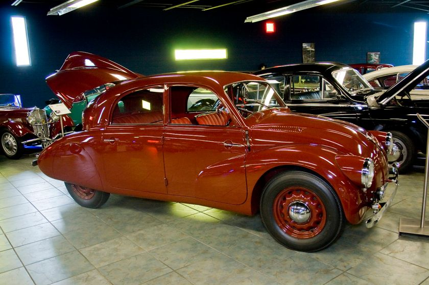 Tatra 97 at the Tampa Bay Automobile Museum
