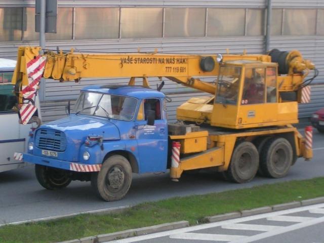 Tatra T 148 (1009) mit ČKD-Kran