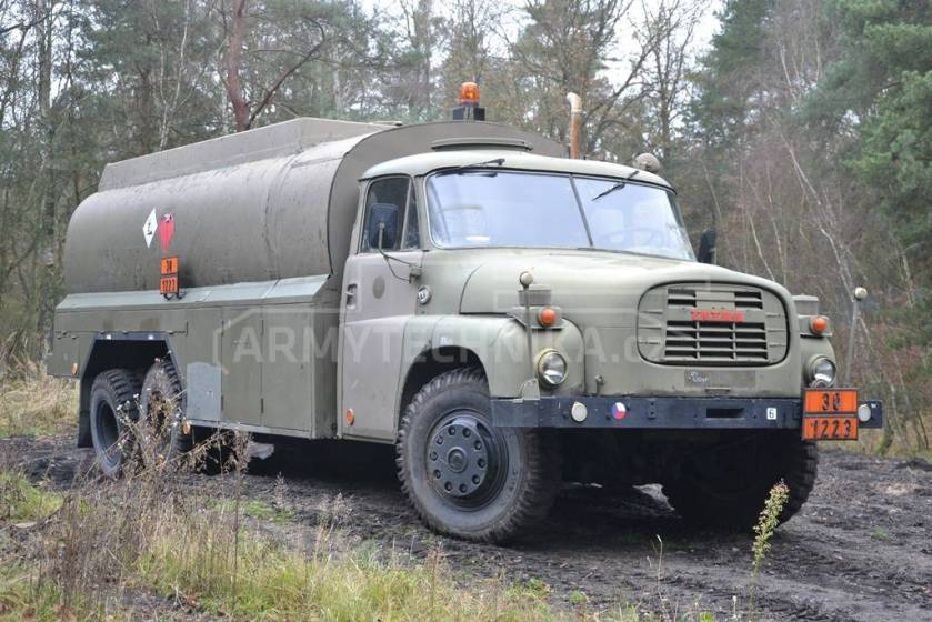 Tatra T-148 CAPL-15 tanker for propellant