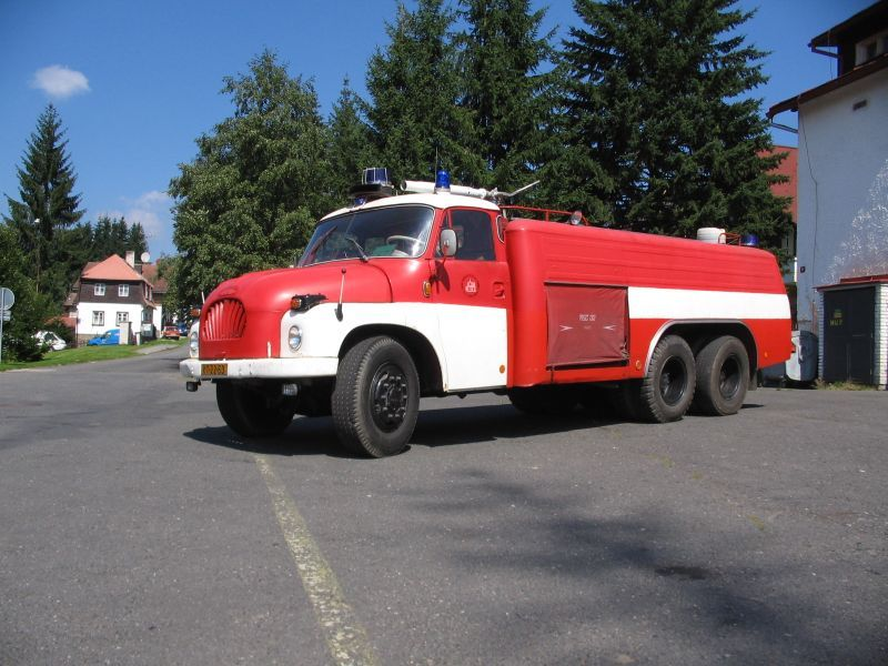Tatra T138 CAS firefighting vehicle