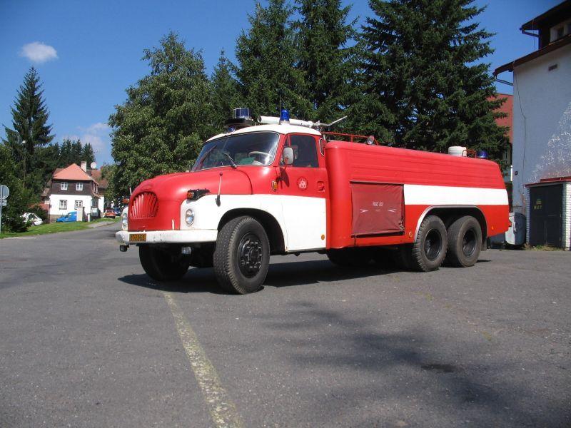 Tatra T138 CAS firefighting vehicle