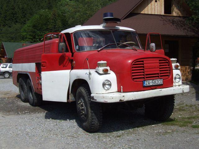 Tatra T148 (firefighting car), Slovakia