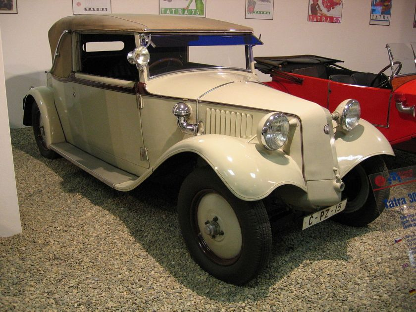Tatra T30 white with Sodomka bodywork