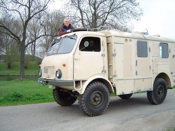 Tatra T805 Radiowagen