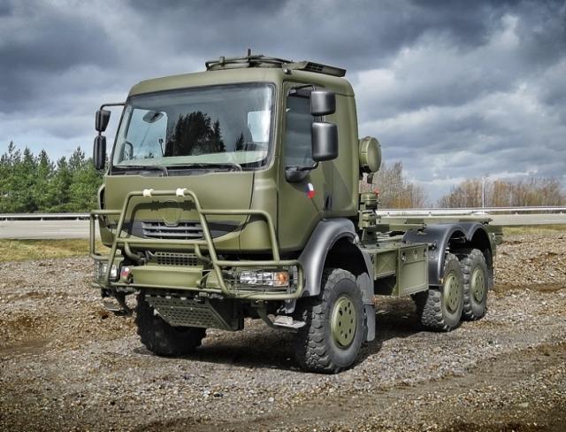 tatra t810 tractor