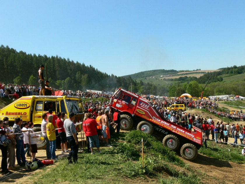Tatra T813 at Truck trials @ Mohelnice, Czech Republic, May 2007