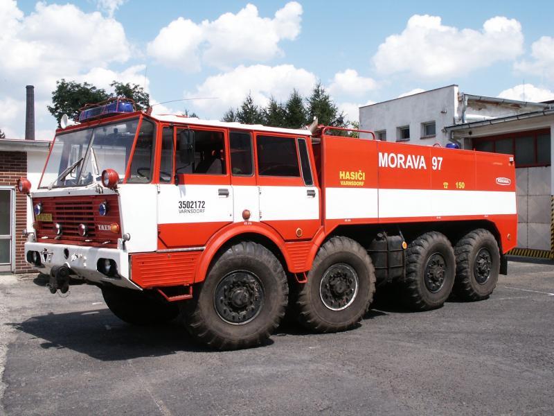 Tatra T813 fire engine