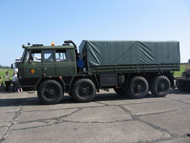 Tatra T815 NVA military troop and cargo carrier