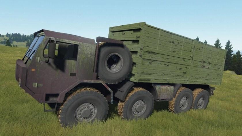 Tatra T817 8x8 Offroad Driving