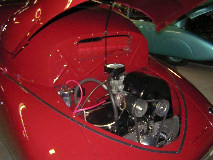 Tatra T97-engine