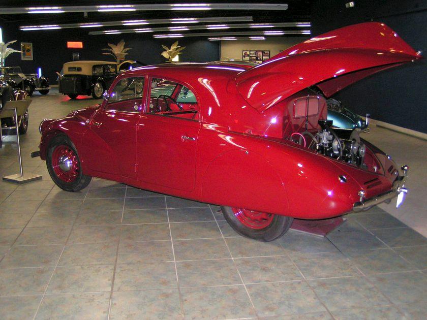 Tatra T97-rear