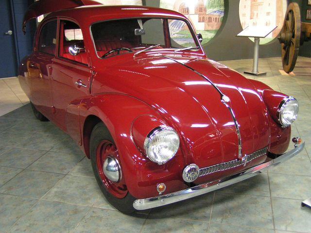 Tatra T97 red