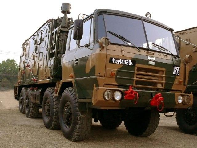 Tatra Truck at India Gate in New Delhi on India's Republic Day