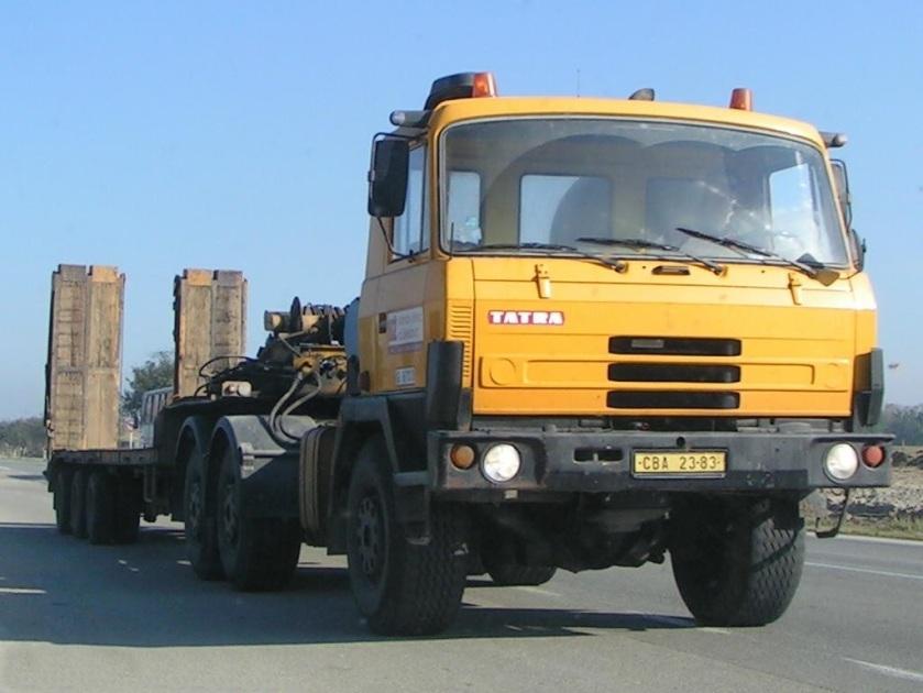 Tatra815, multiple winner of DakarRally Tatra 1021