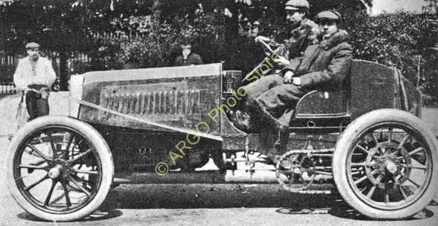 1903 mr063 MOTOR RACING 1903 Panhard Levassor Farman Paris motorsport car photo