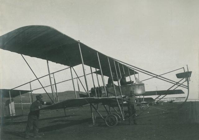1912 Biplane Maurice Farman 7 Longhorn Preveza
