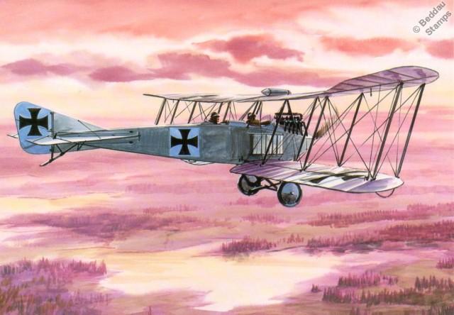 1914 Maurice Farman MF.11 Shorthorn Type 1914 WW1 Biplane Aircraft Postcard #4APC03