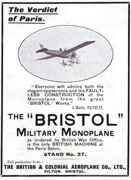1915-bristol-aviation-history