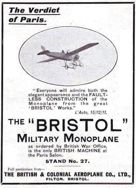 1915-bristol-aviation-history