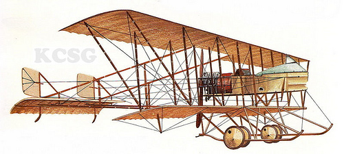 1915 M Farman MF11 Shorthorn