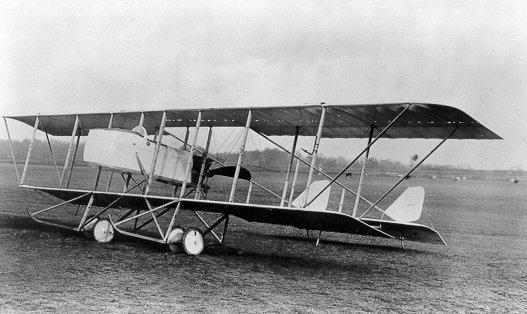 1915 Maurice Farman MF 11 Shorthorn