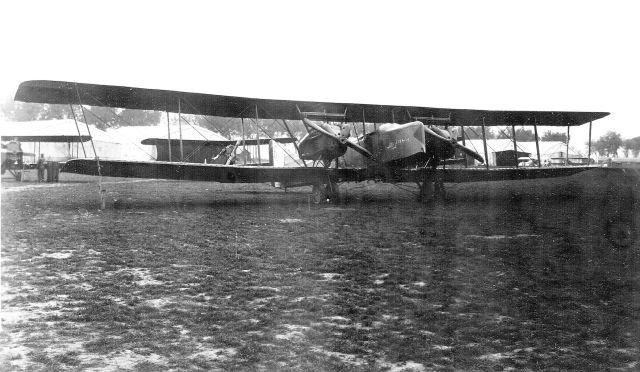 1918 Farman F.50 at the Air Service, United States Army Air Service Production Center No. 2, Romorantin Aerodrome, France