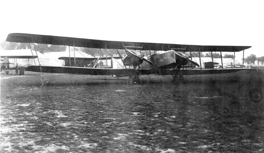 1918 Farman F.50 at the Air Service, United States Army Air Service Production Center No. 2, Romorantin Aerodrome, France