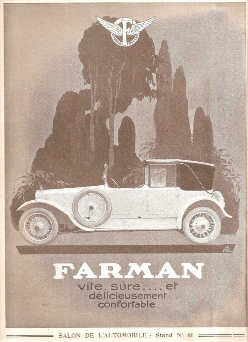 1922-farman-automobiles-voitures-original-vintage-french-ad