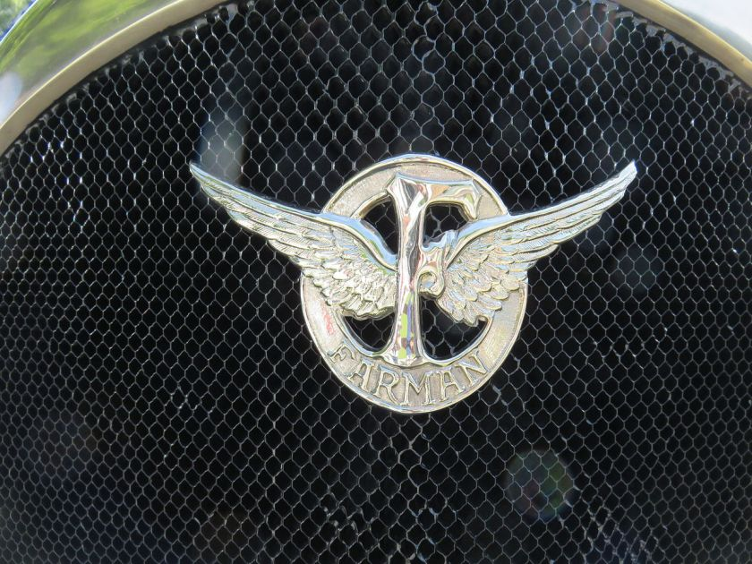 1925 Farman A6B Coupé de Ville Million-Guiet logo-embleem