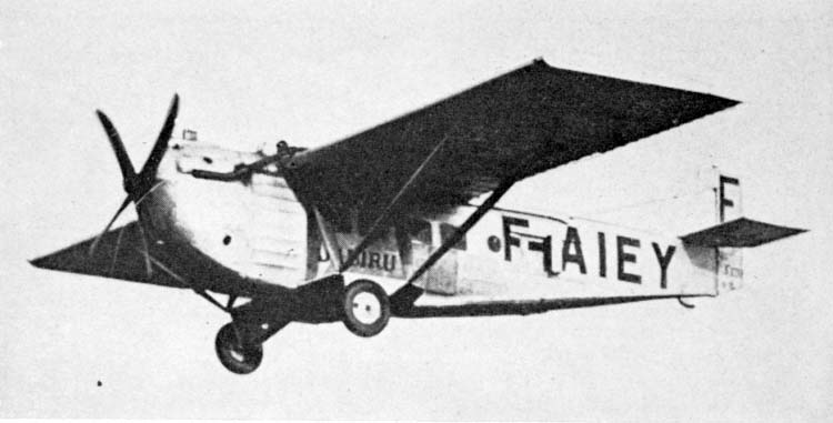 1925 Farman F.170 Jabiru F170-2