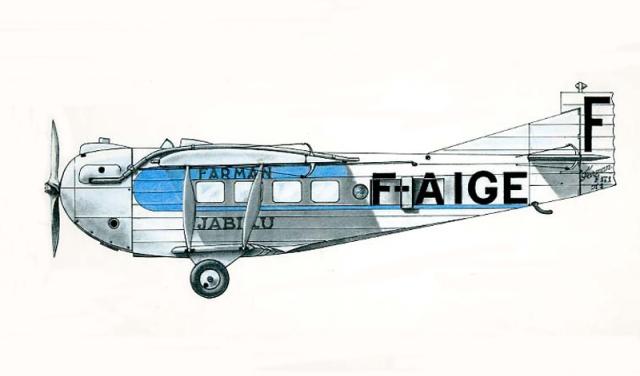 1925 Farman F171 Jabiru
