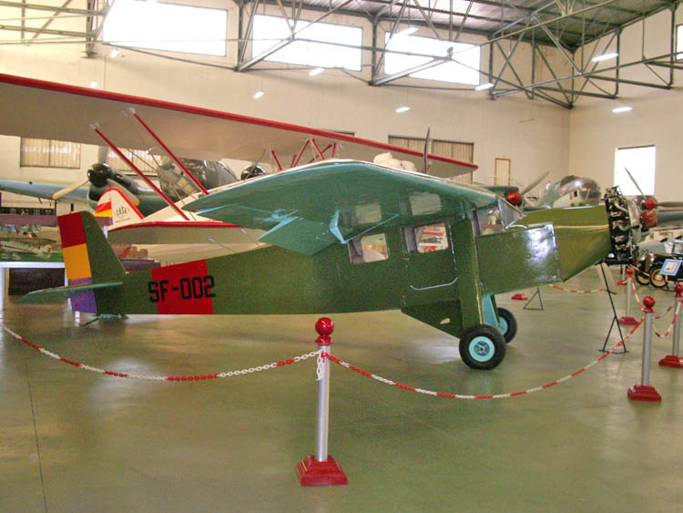 1934 Farman F.402 of the Spanish Republican Air Force