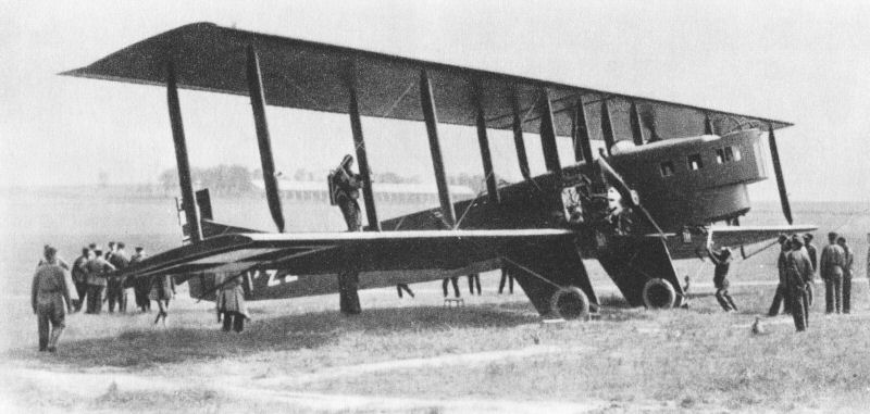 1935 French bomber Farman F-68BN4 Goliath of the Polish Air Force.
