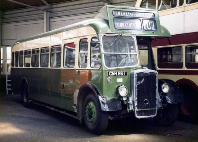 1952-bristol-lwl5g-new-in-1952-and-withdrawn-in-nov-1968