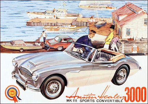 1963-austin-healey-3000-poster