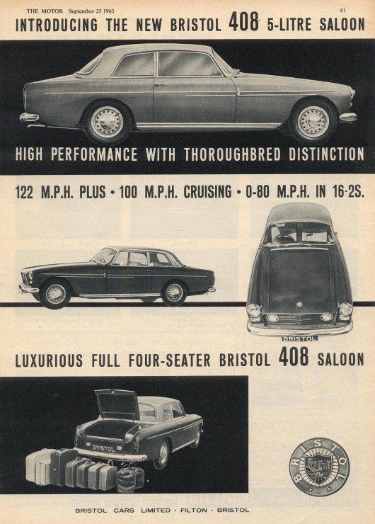 1963-bristol-408-advert-408-of-1963-kept-the-same-basic-aesthetic-but-added-a-5-2-litre-318-cu-in-v8