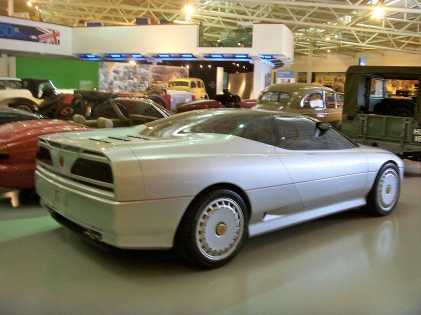 1985-mg-exe-prototype-heritage-motor-centre-gaydon-rear