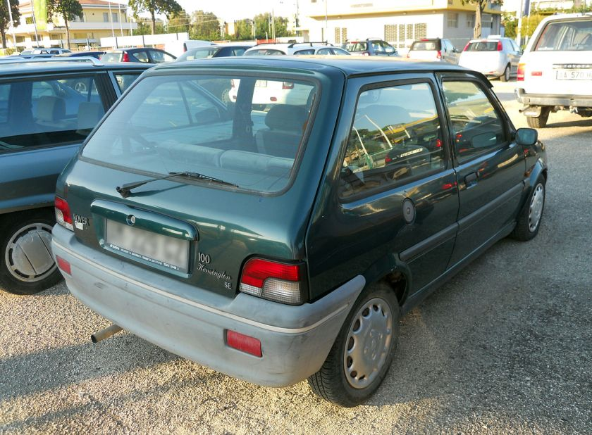 1996-rover-100-kensington-se-rear